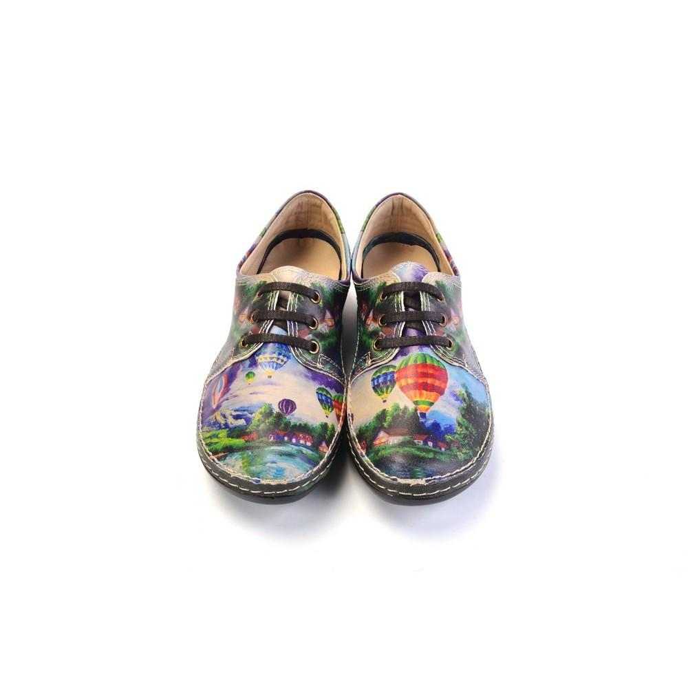 GOBY Pastoral Flying Balloon Slip on Sneakers Shoes MST201
