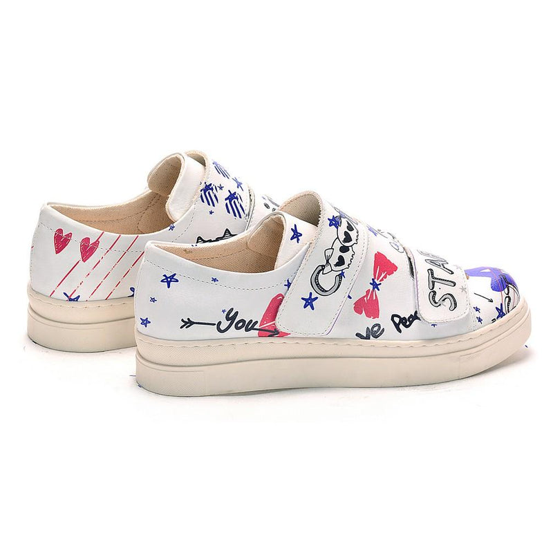 Cool Girl Slip on Sneakers Shoes NAC107 (770202533984)