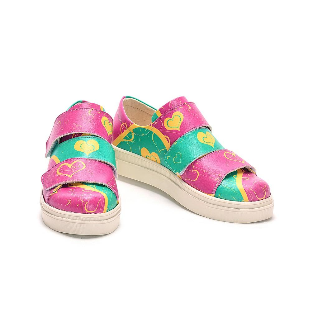 On Nac108 Sneakers Slip Hearts Shoes ZvxTq6qw