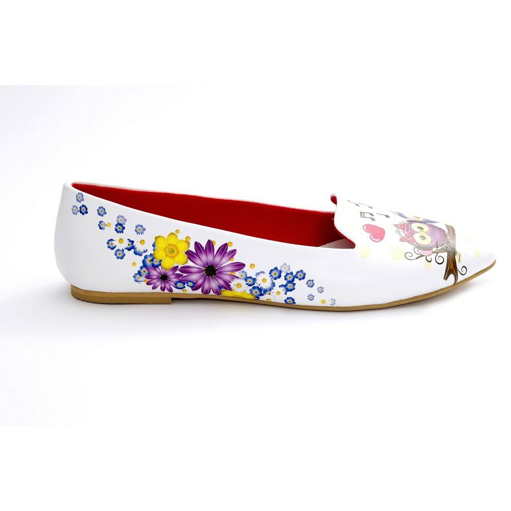 Sweet Owl Ballerinas Shoes NBL217