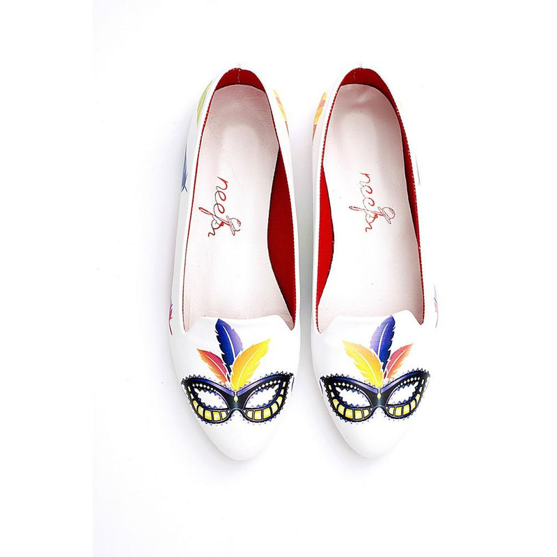 Masquerade Ballerinas Shoes NBL227 (770203385952)