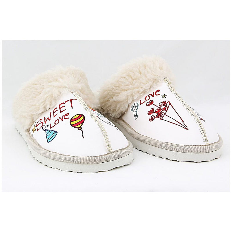 Sweet Love Shearling Slipper NCT102 (770204303456)