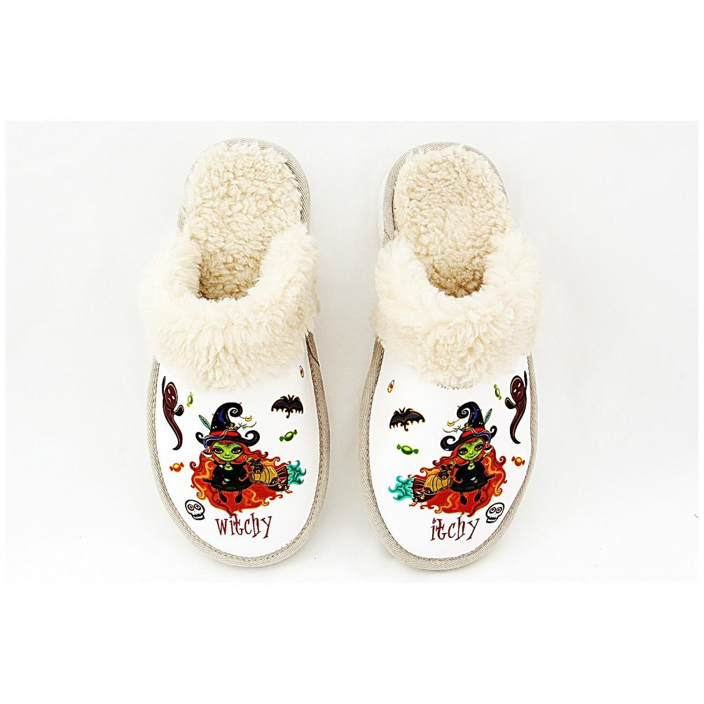 Itchy Witchy Shearling Slipper NDT102