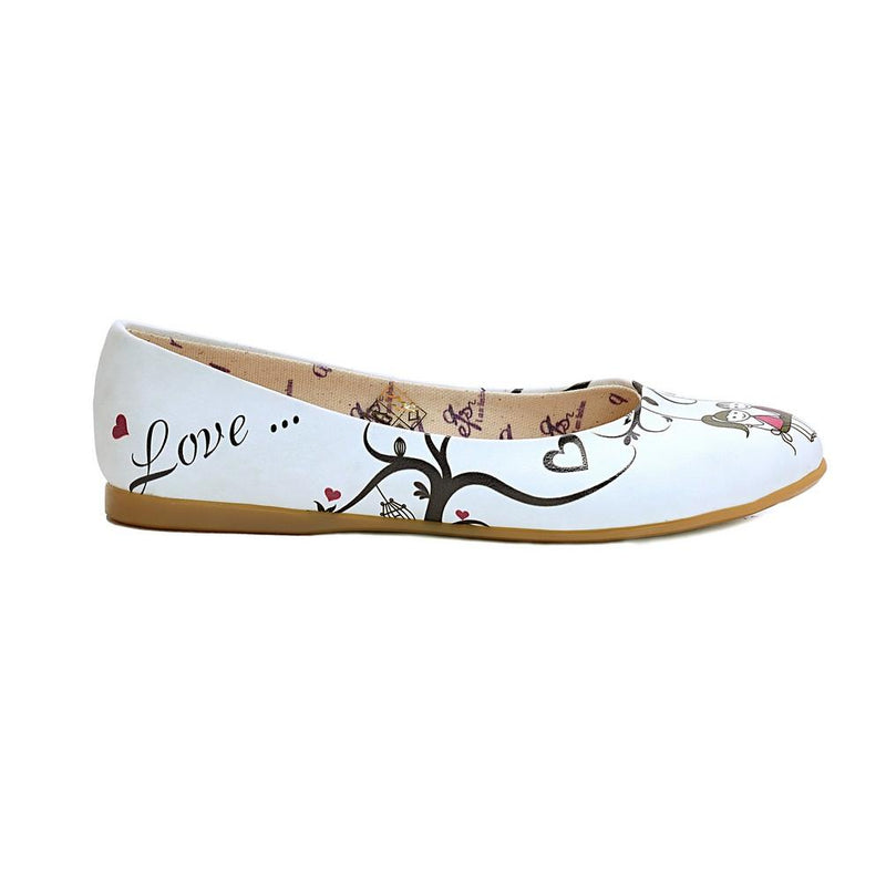 Couple in Love Ballerinas Shoes NFS1001 (770205909088)