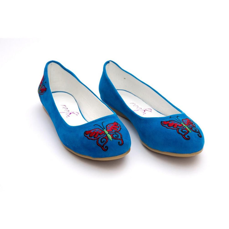 Butterfly Ballerinas Shoes NFS203 (770206269536)