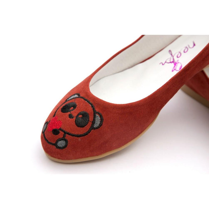 Panda Ballerinas Shoes NFS205 (770206498912)
