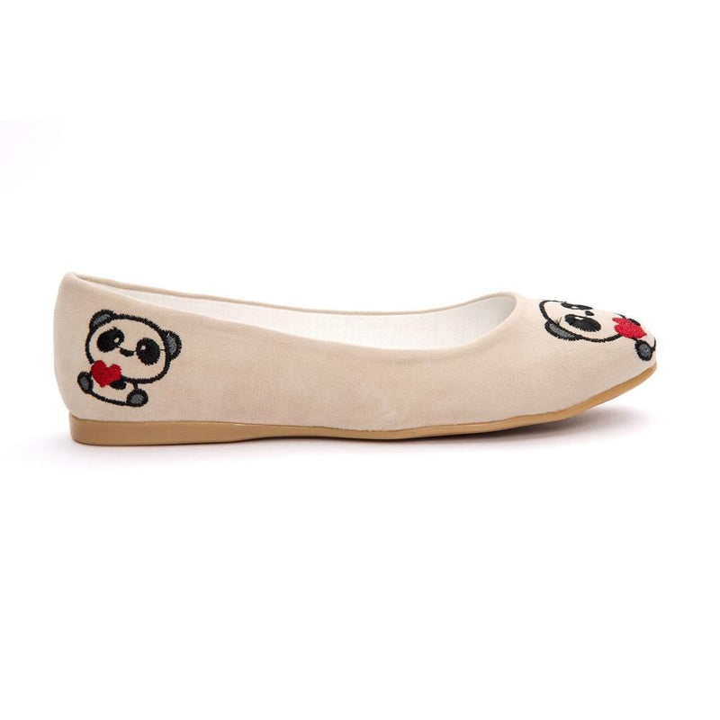 Panda Ballerinas Shoes NFS206 (770206597216)