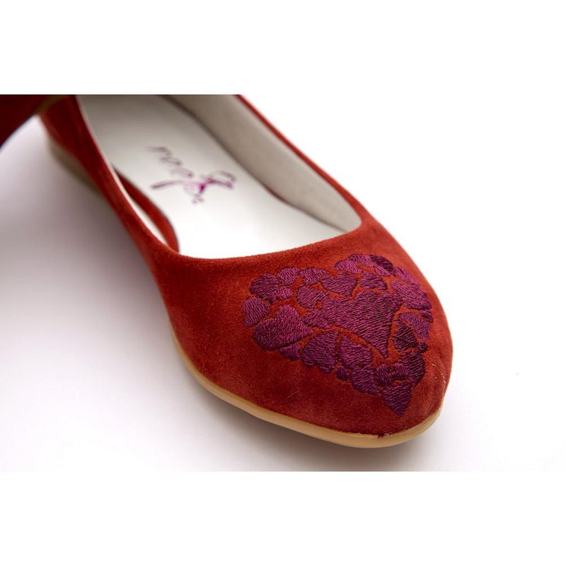 Hearts Ballerinas Shoes NFS207 (770206695520)