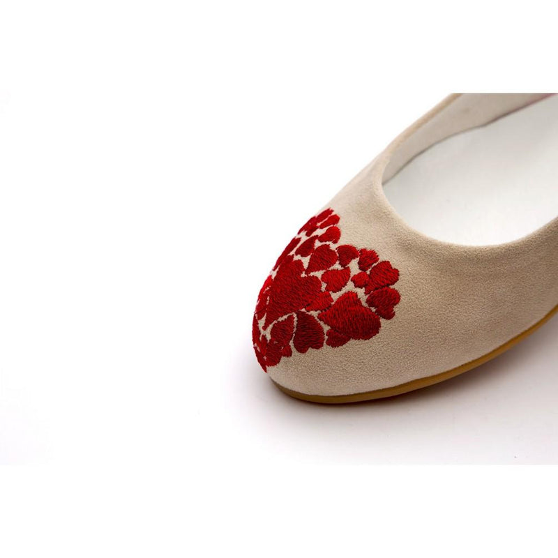 Hearts Ballerinas Shoes NFS212 (770206990432)