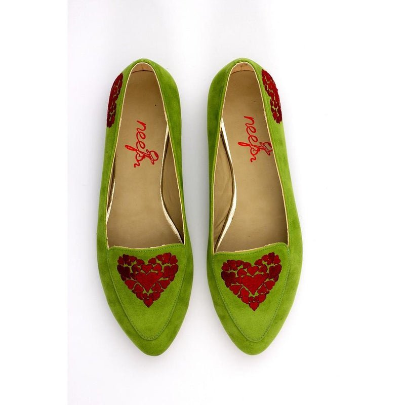 Hearts Ballerinas Shoes NFS302 (770207481952)