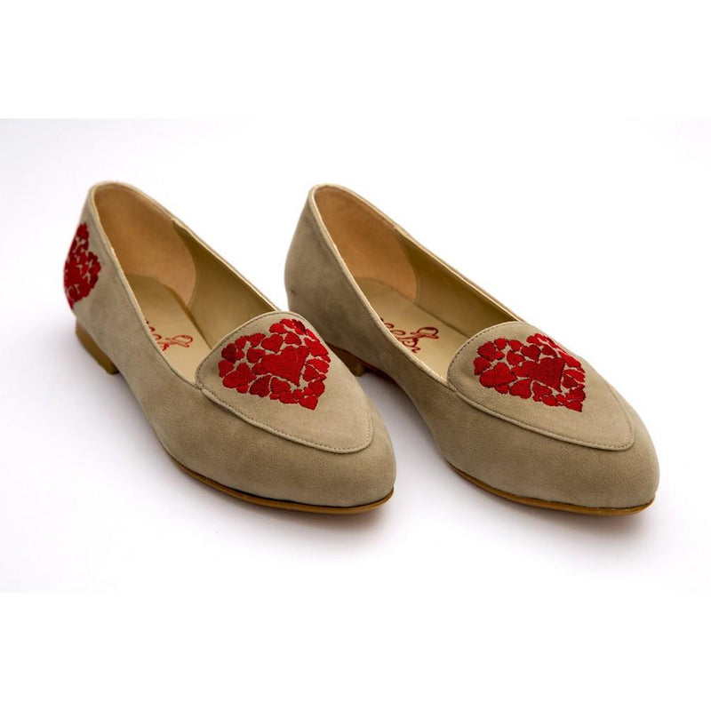 Hearts Ballerinas Shoes NFS307 (770207842400)