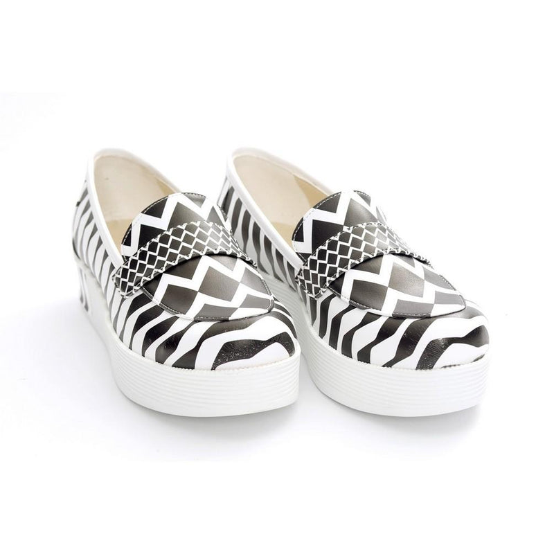Pattern Slip on Sneakers Shoes NFS503 (770208039008)