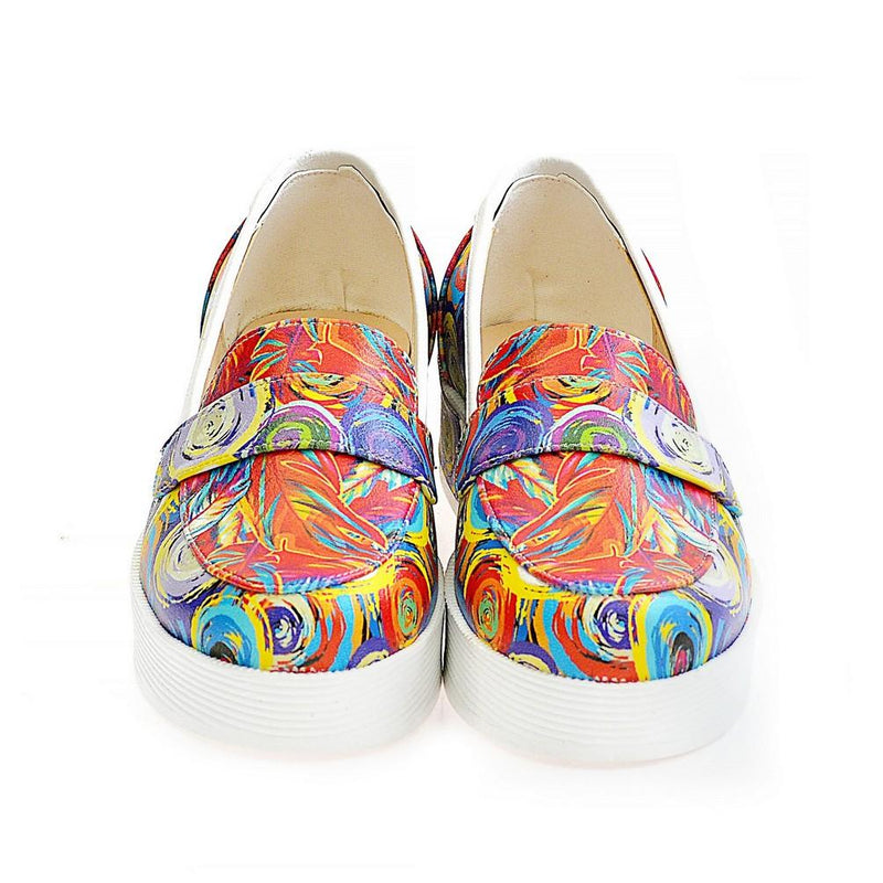 Art Slip on Sneakers Shoes NFS509 (770208464992)