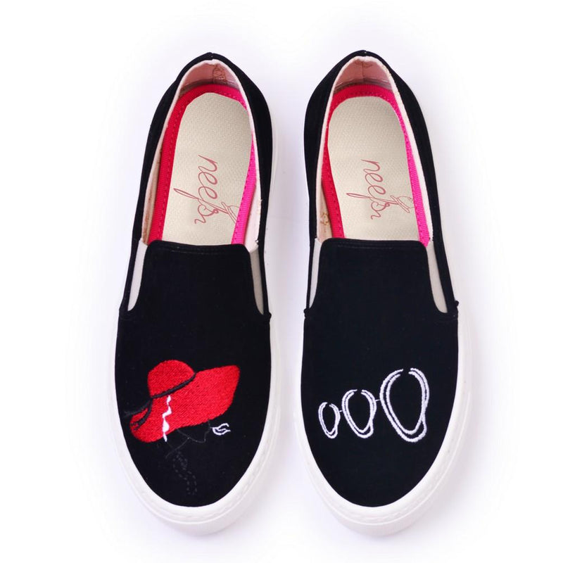 Cool Woman Slip on Sneakers Shoes NFS607 (770209054816)