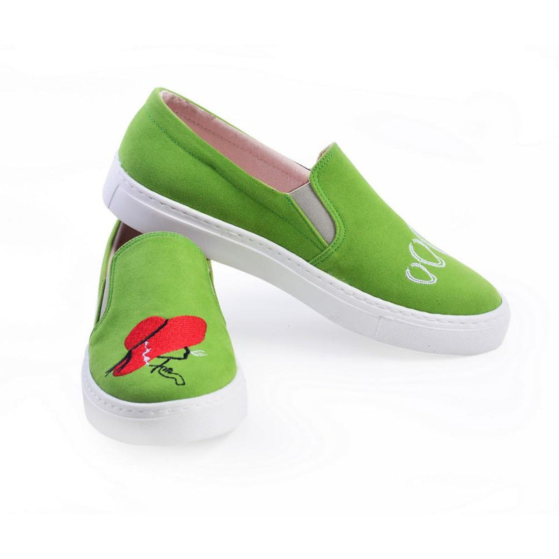 Cool Woman Slip on Sneakers Shoes NFS610 (770209218656)