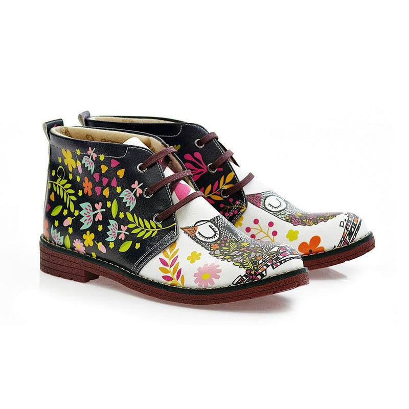 Sweet Owl Ankle Boots NHP104 (770209611872)