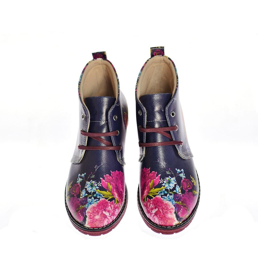 Flowers Ankle Boots NHP108 - Goby NEEFS Ankle Boots