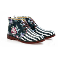 Flowers Ankle Boots NHP111 (770210037856)