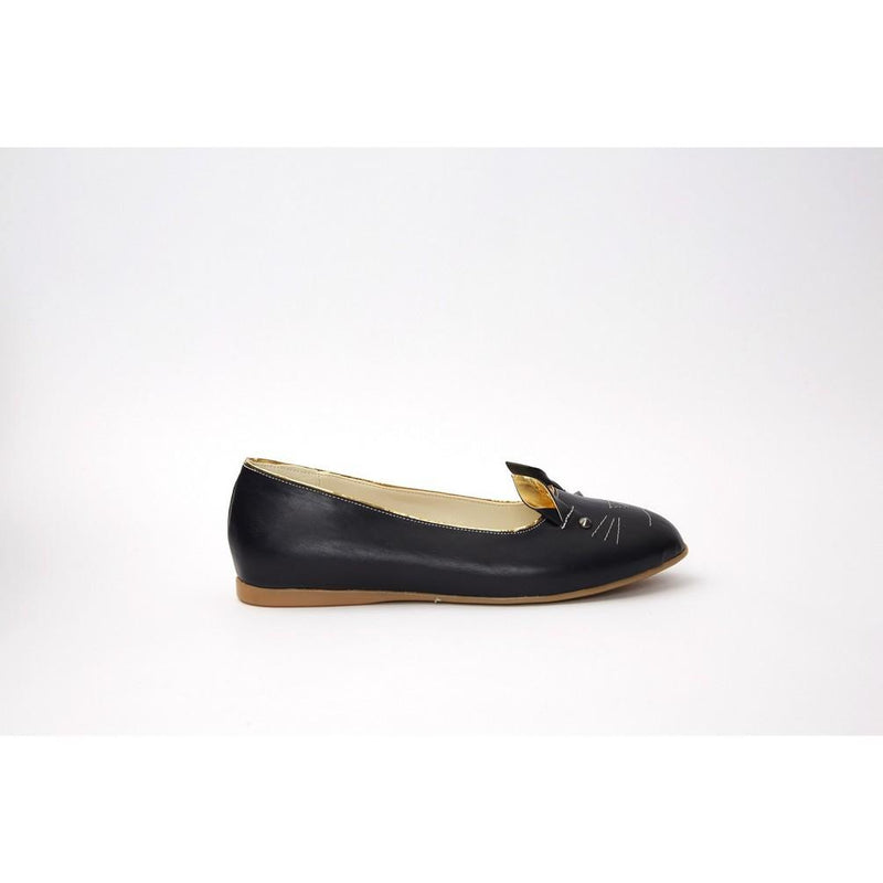 Black Cat Ballerinas Shoes NKB15 (770210496608)
