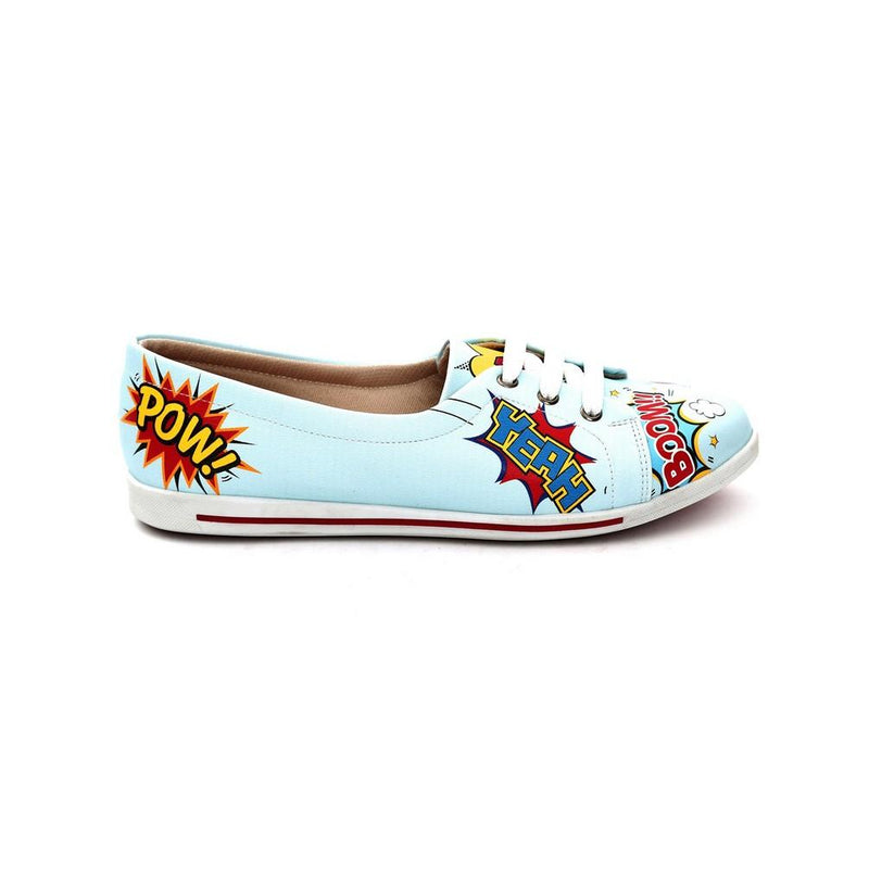 Pop Art Ballerinas Shoes NLS59 (770210988128)