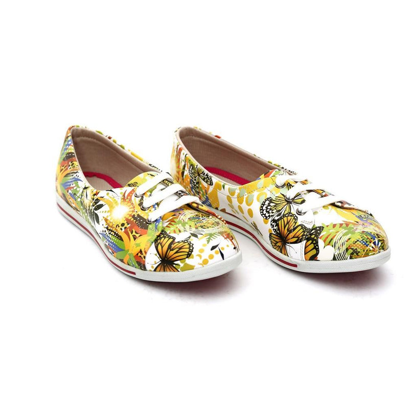 Butterfly Ballerinas Shoes NLS61 (770211086432)