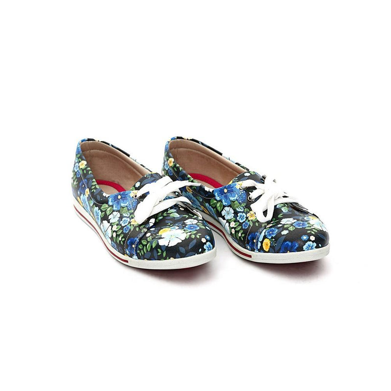 Flowers Ballerinas Shoes NLS62 (770211151968)