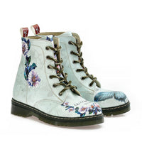 Butterfly and Flower Long Boots NMAR107