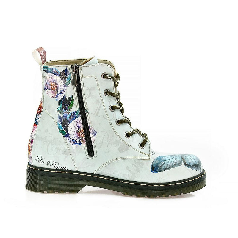 Butterfly and Flower Long Boots NMAR107 (770211840096)