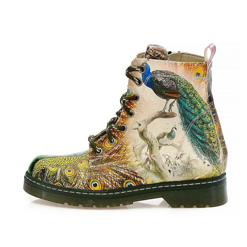 Peacock Long Boots NMAR114 (770212364384)