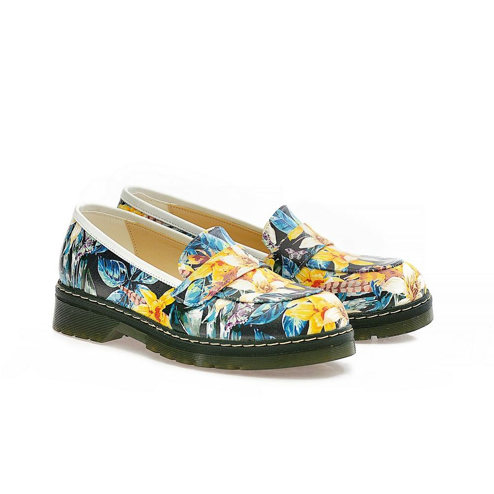Flowers Oxford Shoes NMOX102 - Goby NFS Oxford Shoes