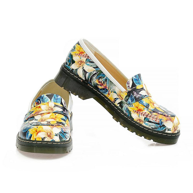 Flowers Oxford Shoes NMOX102 (770212790368)