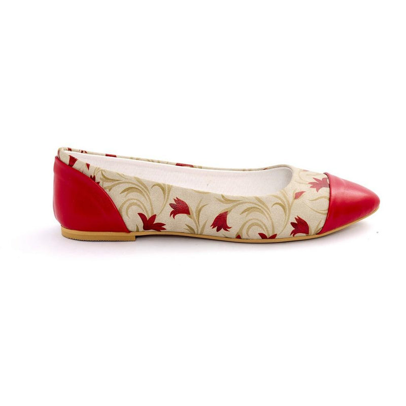 Rose Ballerinas Shoes NMS101 (770212954208)