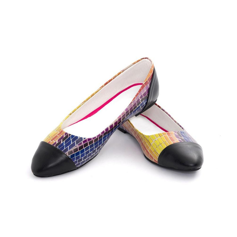 Colored Wall Ballerinas Shoes NMS102 (770213019744)