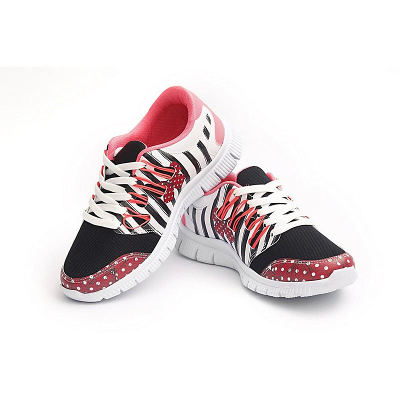 Stylish Zebra Flexible Sport Shoes NPS105 (770213576800)