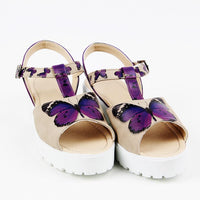 Butterfly Heel Sole Sandals NRK303