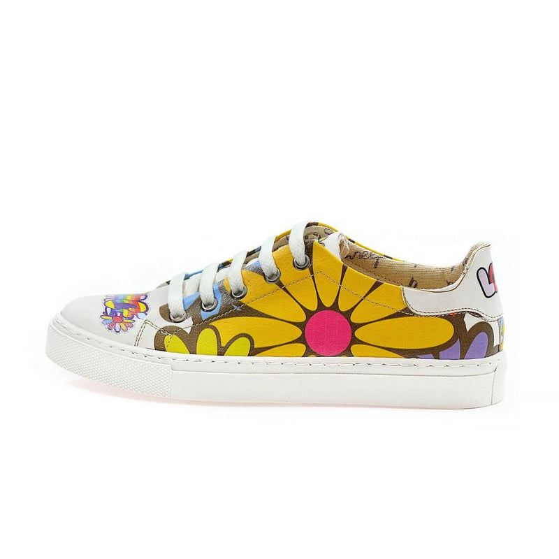 Love Peace Slip on Sneakers Shoes NSP101 (770214821984)