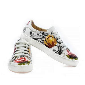 Rose Slip on Sneakers Shoes NSP103