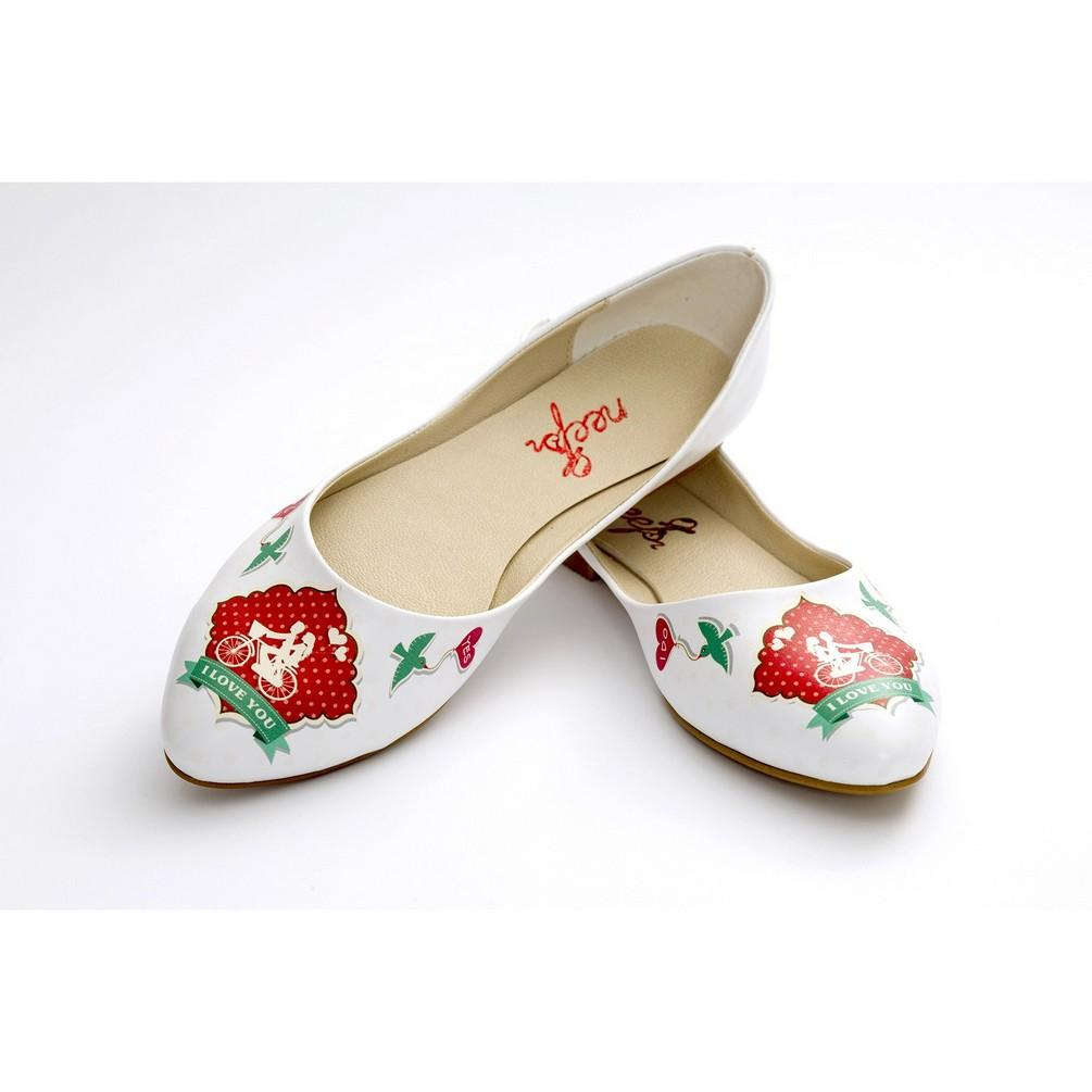 I Love You Ballerinas Shoes NSS353