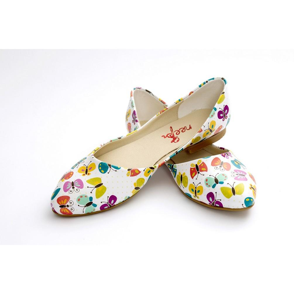 Butterfly Ballerinas Shoes NSS354, Goby, NFS Ballerinas Shoes