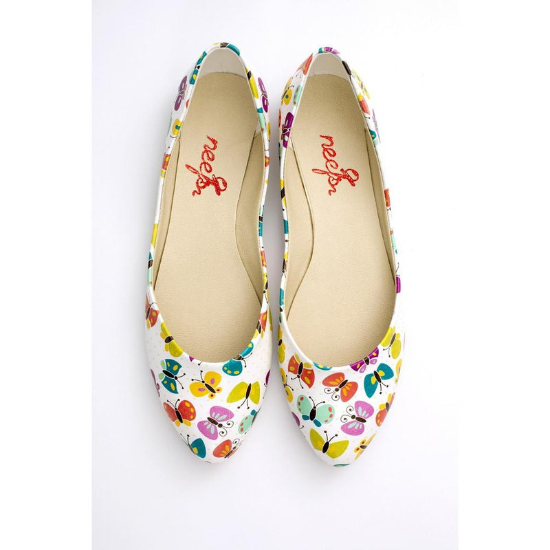 Butterfly Ballerinas Shoes NSS354 (770221506656)