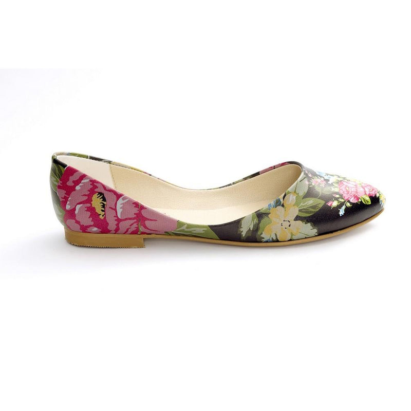Flowers Ballerinas Shoes NSS356 (770221604960)