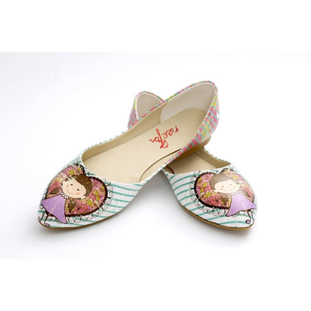 Cute Girl Ballerinas Shoes NSS357 - Goby NFS Ballerinas Shoes