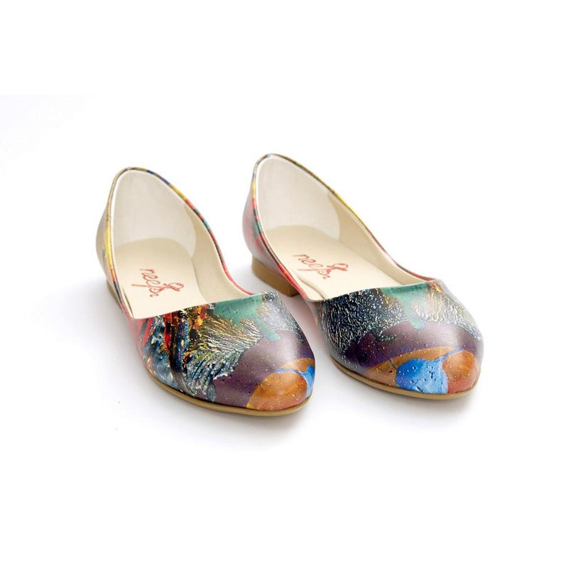 Pattern Ballerinas Shoes NSS358 (770221768800)