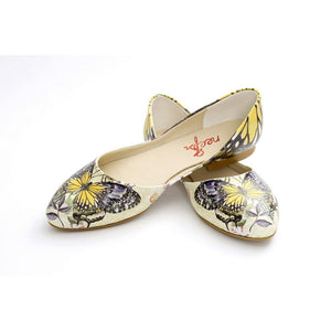 Butterfly Ballerinas Shoes NSS359, Goby, NFS Ballerinas Shoes