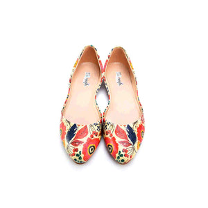 Colored Ballerinas Shoes NSS363, Goby, NFS Ballerinas Shoes