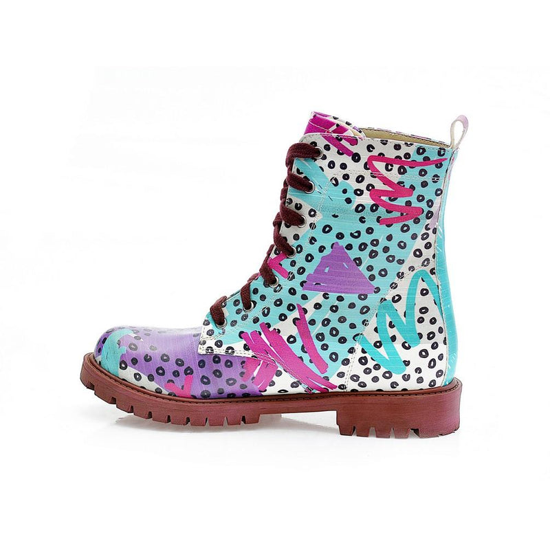 Pattern Long Boots NTM1002 (770215247968)