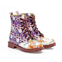 Flowers Long Boots NTM1011