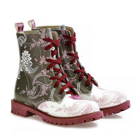 Pattern Long Boots NTM1014