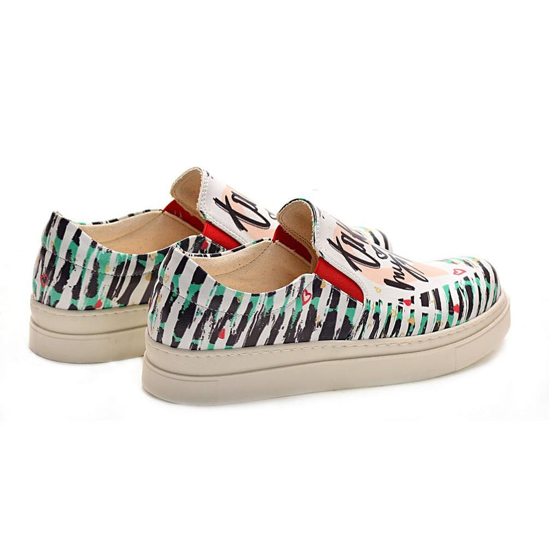 Take My Heart Slip on Sneakers Shoes NVN107 (770216460384)