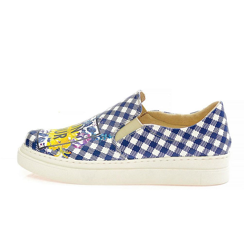 Bonjour Slip on Sneakers Shoes NVN121 (770217050208)